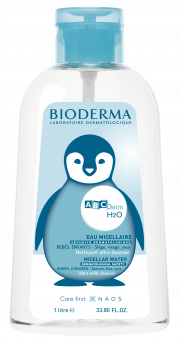 Bioderma Abcderm H2O Micellar Water Ultra-Gentle Cleansing Baby Children Skin