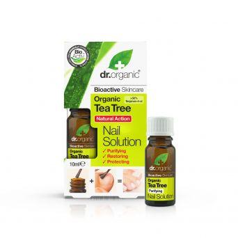 Dr Organic Tea Tree Nail Solution