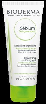 Bioderma Sebium Gel Gommant Exfoliating Purifying Gel Combination to Oily Skin