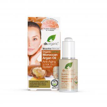 Dr Organic Moroccan Argan Oil Anti-Ageing Stem Cell System