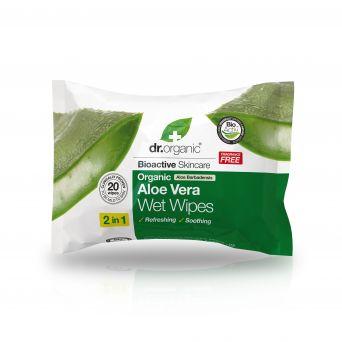 Dr Organic Aloe Vera Wet Wipes