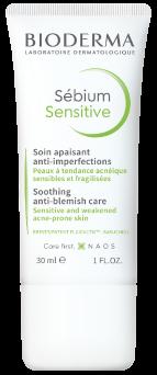 Bioderma Sebium Sensitive Soothing moisturising anti-blemish cream acne-prone skin