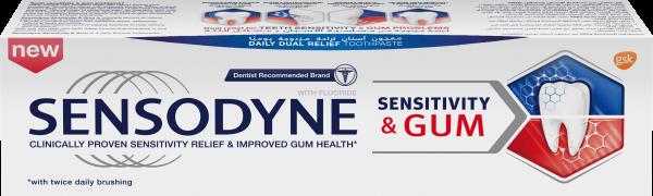 Sensodyne Sensitivity & Gum, Toothpaste, 75 ml
