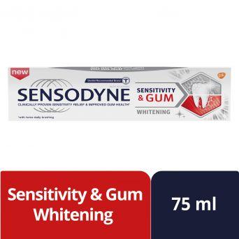 Sensodyne Sensitivity & Gum Whitening Toothpaste, 75 ml