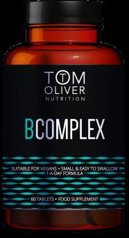Tom Oliver Vitamin B Complex 60's