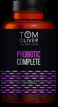 Tom Oliver Vitamin Probiotic 10B 60's