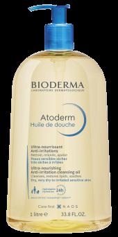 Bioderma Atoderm Huile de douche Anti-irritation cleansing oil sensitive dry to atopic skin 1000ml