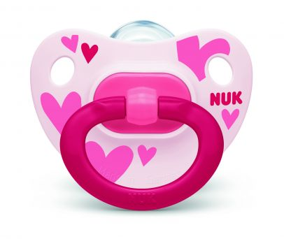 Nuk Happy Days Silicone Soother 6-18M - 2's