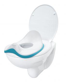 Nuk Wc Trainer, Children's Toilet Seat - Blue, Boy