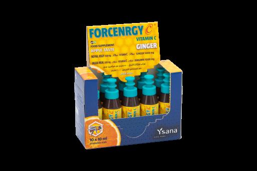 Forcenrgy C Ginger Drinkable Vials