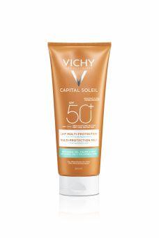 Vichy Capital Soleil Beach Protect Multi-Protection Milk SPF 50+, 200ml