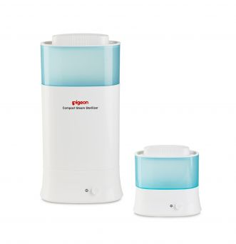 Pigeon Compact Steam Sterilizer For Two Bottles (G-Type)