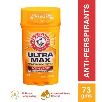 Arm & Hammer Ultra Max Active Sport Deodorant (Wide) 73gr