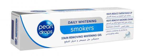 Pearl Drops Daily Whitening Smokers Gel 75ml