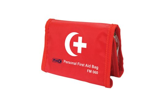 Max Personal First Aid Bag FM060 with Contents