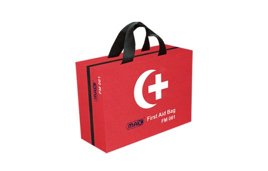 Max First Aid Bag FM061 with Contents