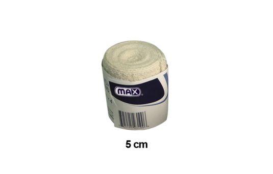 Max Cotton Crepe Bandage, 5cmx4.5m