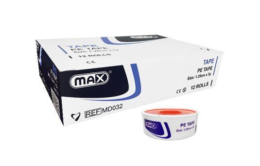 Max Transparent PE Tape 1.25 cm x 5y
