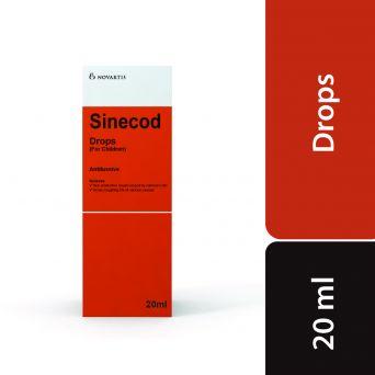Sinecod Drops, 0.5%, 20ml