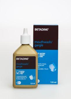 Betadine Mouthwash 125ml