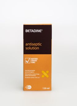 Betadine Antiseptic Solution 120ml