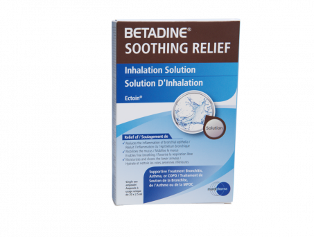Betadine Soothing Relief Inhalation Relief