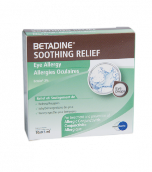 Betadine Soothing Relief Eye Allergy 10's Amp