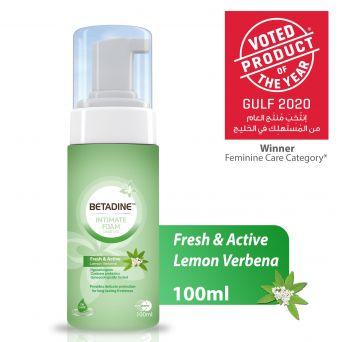 Betadine Intimate Wash Fresh & Active Lemon 100ml
