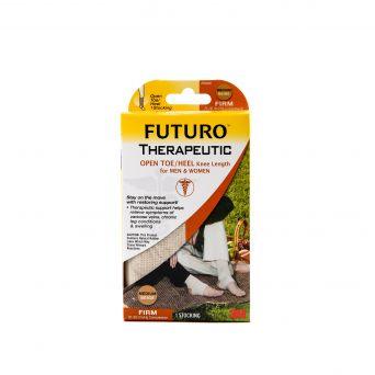 Futuro Firm Knee High, Open Toe/Open Heel, Beige Medium