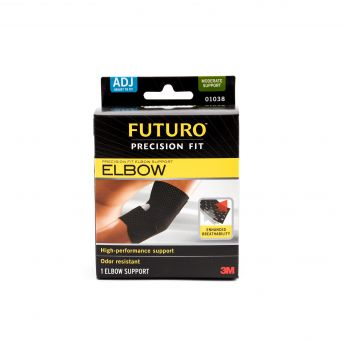 Infinity Precision Fit Elbow Support Black