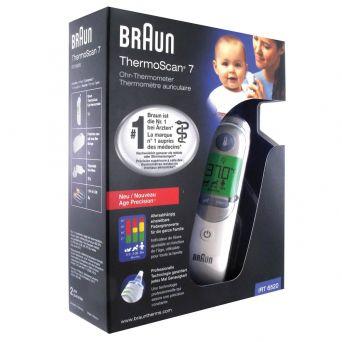 Braun IRT 6520B Ear ThermoScan 7, Age Precision
