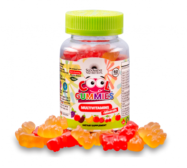 Sunshine Nutrition Cool Gummies Vegan Multivitamins 60 Gummies