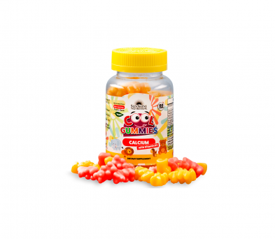Sunshine Nutrition Cool Gummies Calcium With D3 60 Gummies