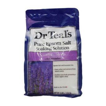 Dr Teal's Epsom Bath Salt Lavender 1.36kg